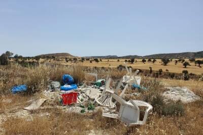 Кипр тонет в мусоре!
