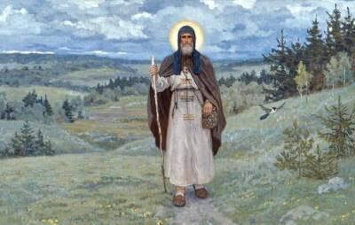 Жития святых: преподобный Сергий Радонежский