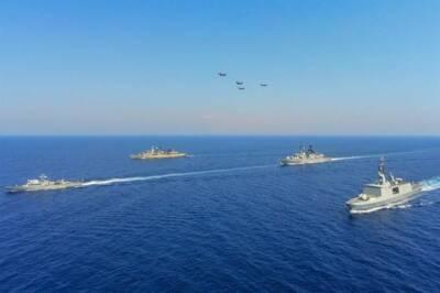 На Кипре проходят совместные военные учения с Грецией, Францией и Италией