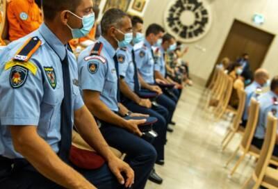 В президентском дворце в Никосии поблагодарили киприотов, боровшихся с мощными пожарами в Греции