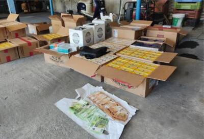Погоня со стрельбой в Лимассоле. Конфискованы 24 кг табачных изделий и 22 700 евро
