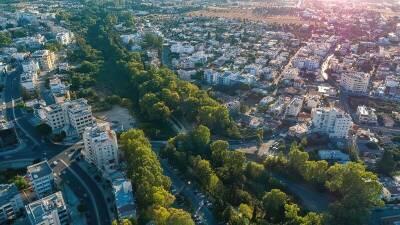 В Никосии модернизируют парк вдоль реки Педиэос