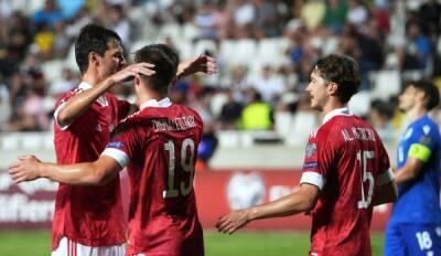 Сборная России по футболу обыграла Кипр в отборочном матче чемпионата мира